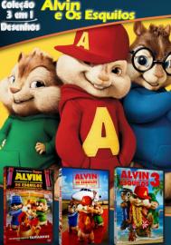 Cole??o Digital Alvin e Os Esquilos Todos os Filmes Completo Dublado