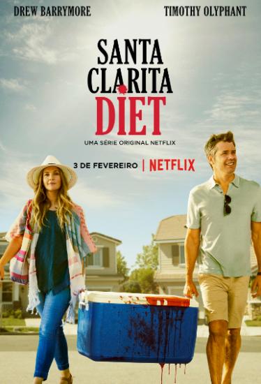 Coleção Digital Santa Clarita Diet Todas Temporadas Completo Dublado