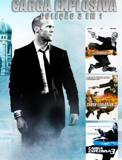 Coleção Digital Carga Explosiva Todos os Filmes Completo Dublado