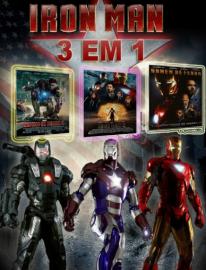 Cole??o Digital Homem de Ferro Todos os Filmes Completo Dublado