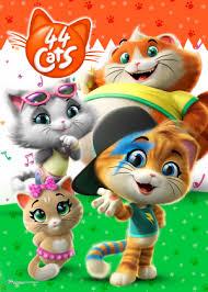 Coleção Digital 44 Gatos Todos Episódios Completo Dublado