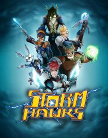 Coleção Digital Storm Hawks Completo Dublado