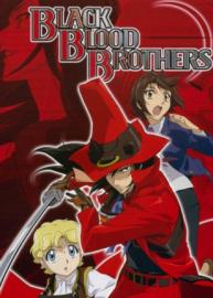 Cole??o Digital Black Blood Brothers Todos Epis?dios Completo Dublado