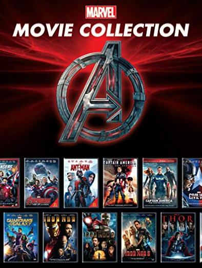 Cole??o Digital Universo Marvel Todos os Filmes Completo Dublado