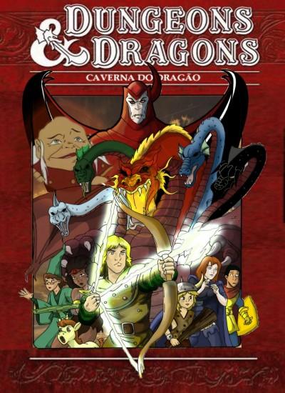 Coleção Digital Caverna do Dragão Todos Episódios Completo Dublado