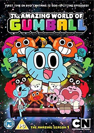 Coleção Digital O Incrível Mundo de Gumball Todos Episódios Completo