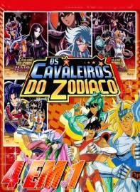 Coleção Digital Os Cavaleiros do Zodíaco Todos Episódios Completo Dublado